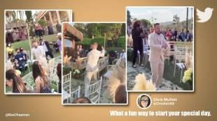 viral video, brazil dancer, dances at his wedding