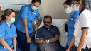 Vijayakanth tweets his health conditions updates, Vijayakanth gives his health updates, விஜயகாந்த் உடல்நிலை, விஜயகாந்த், தேமுதிக தலைவர் விஜயகாந்த், துபாயில் நர்ஸ்களுடன் சத்ரியன் படம் பார்த்த விஜயகாந்த், தேமுதிக, vijayakanth health upadates, vijayakanth watch movie with nurses, Vijayakanth in Dubai, Vijayakanth treatment, DMDK leader Vijayakanth, Vijayakanths fans gets emotional, Vijayakanth news