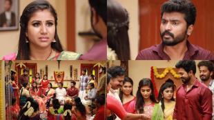 Vijay TV Raja Rani 2 Serial, raja rani 2 serial, raja rani 2 serial today episode, sandhya, saravanan, alya manasa, sidhu, vaishnavi sundar, saravanan put divorce papet at sandhya hand, parvathi engagement done, விஜய் டிவி, ராஜா ராணி 2 சீரியல், ராஜா ராணி 2 சீரியல் இன்றைய எபிசோடு, ஆல்யா மானசா, டிவோர்ஸ் பேப்பரைக் கொடுத்த சரவணன், பார்வதி நிச்சயதார்த்தம், சந்தியா, ராஜா ராணி 2, saivam ravi, praveena, vj archana, saravanan put divorce paper at sandhya, vaishnavi dudar, tamil serial news, tamil tv serial news