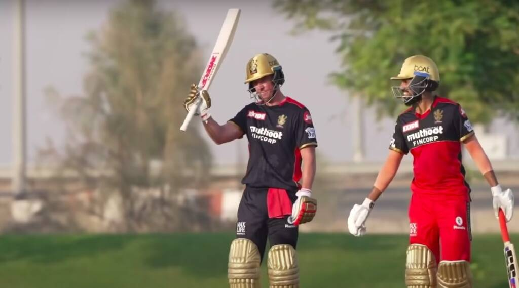 Ipl 2021 Tamil Newsl: AB de Villiers slams a cracking century in RCB's intra-squad