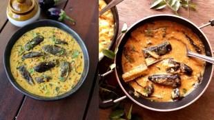 brinjal recipes in tamil: simple steps to make curd brinjal gravy in tamil
