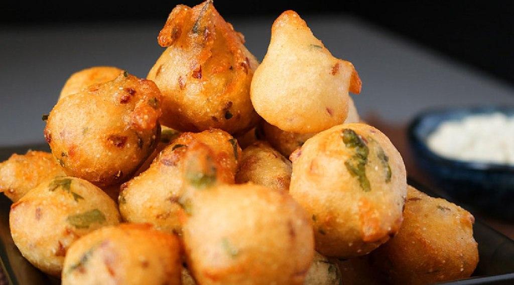 bonda Recipes in tamil: idli batter bonda making in tamil