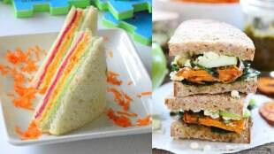 sandwich recipes for kids in tamil: veg sandwich making in tamil