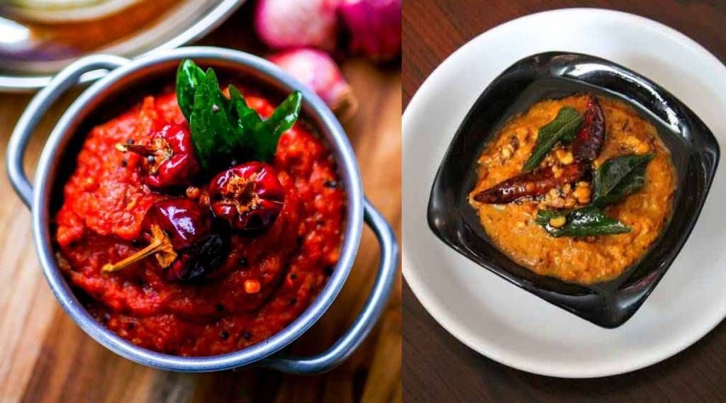 chutney recipes in tamil: chinna vengaya chutney making in tamil