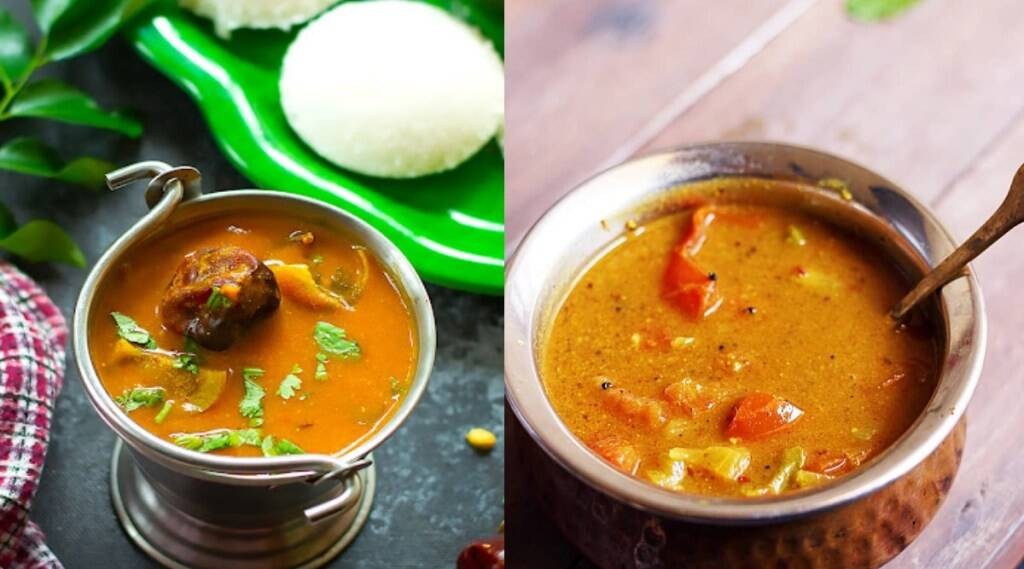 Sambar recipes in tamil: Instant Sambar Without Dal For Idli in tamil