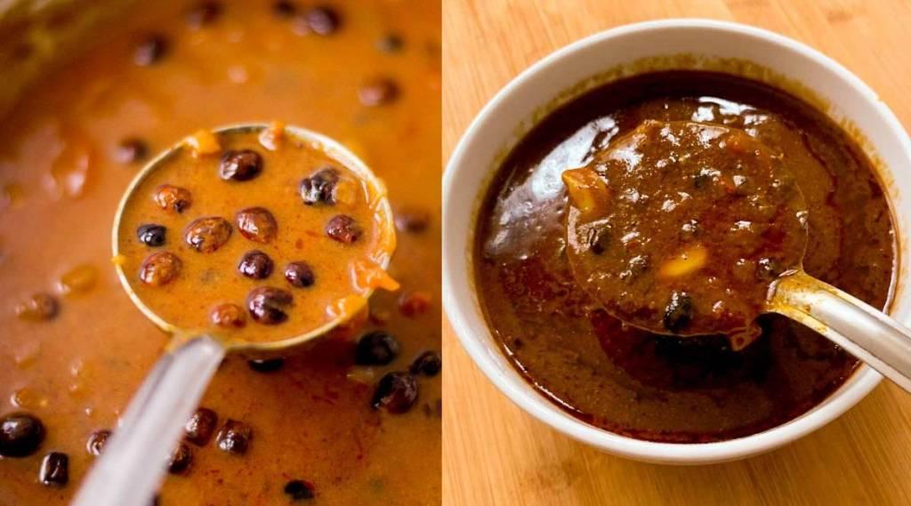 Vatha Kuzhambu recipe in tamil: turkey berry recipes in tamil:
