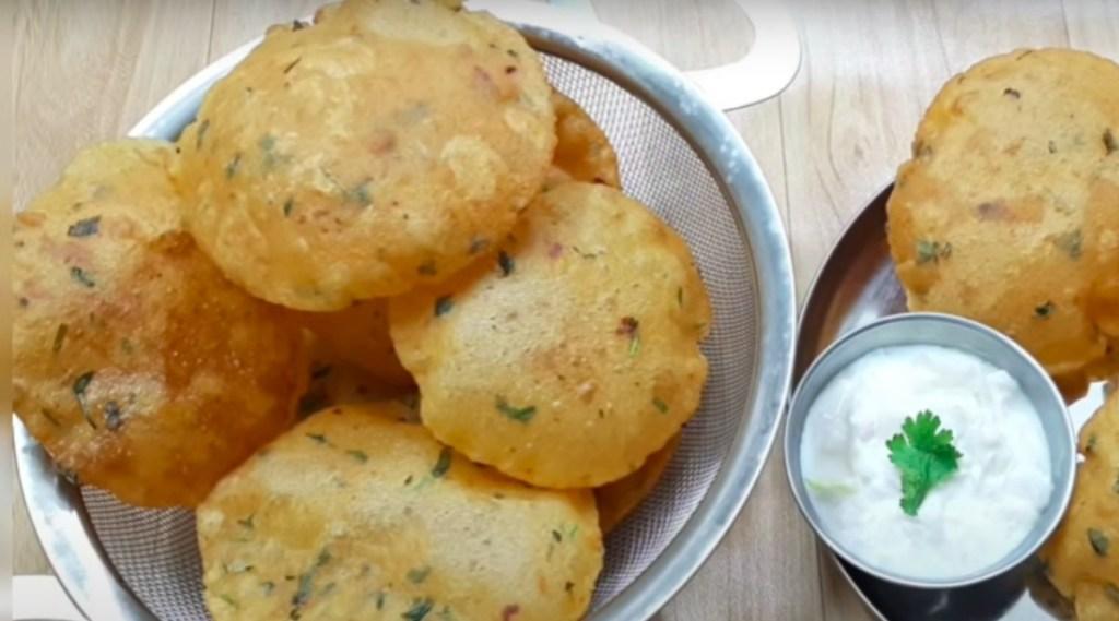 aloo Poori recipe in tamil: aloo poori making in tamil