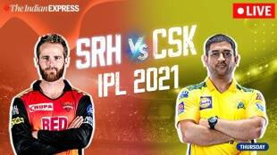 SRH vs CSK Live score: CSK Vs SRH live updates and match highlights