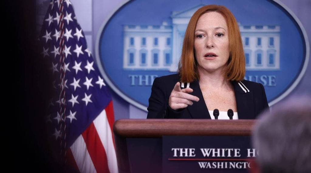 White House Press Secretary Jen Psaki , abortion rights