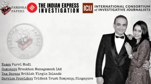 Pandora papers, Nirav Modi, Indian express investigation
