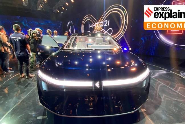 Electronics maker Foxconn electric vehicles plan