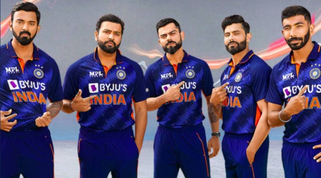 Cricket news in tamil: BCCI unveils Team India's new jersey for T20 World Cup