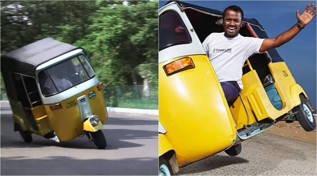 Chennai man makes Guinness World Record by driving auto-rickshaw