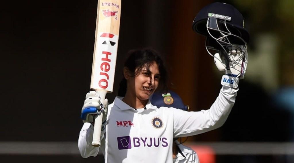 Cricket Tamil News: Smriti Mandhana Hits Century against Aus in pink ball test
