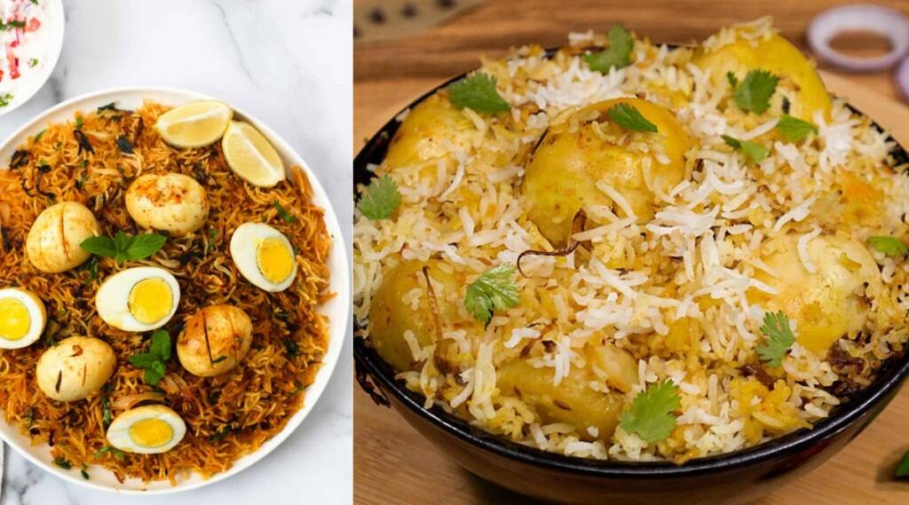 egg biryani tamil: muttai biryani making in tamil