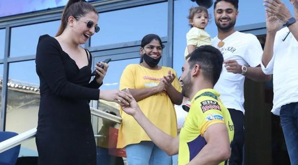 Ipl 2021 Tamil News: Chahar Proposes to Girlfriend After IPL Match vs Punjab Tamil News