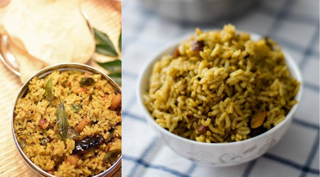 Puliyodharai recipe in Tamil: Puli sadam Making in cooker tamil