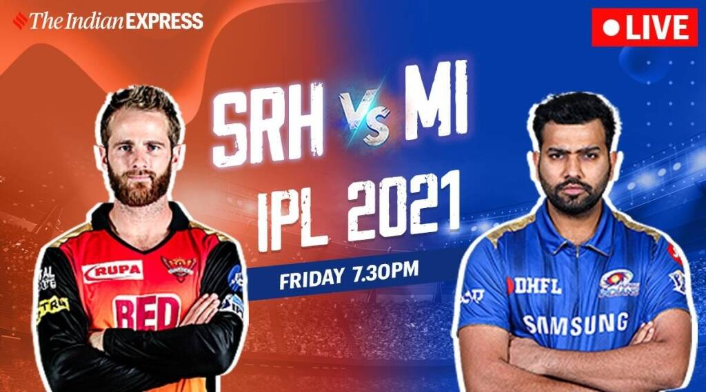 SRH vs MI live match in tamil: SRH vs MI live score and match highlights tamil