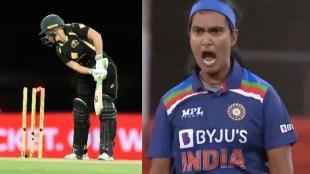 Cricket news In tamil: Shikha Pandey dismisses Alyssa Healy video goes viral