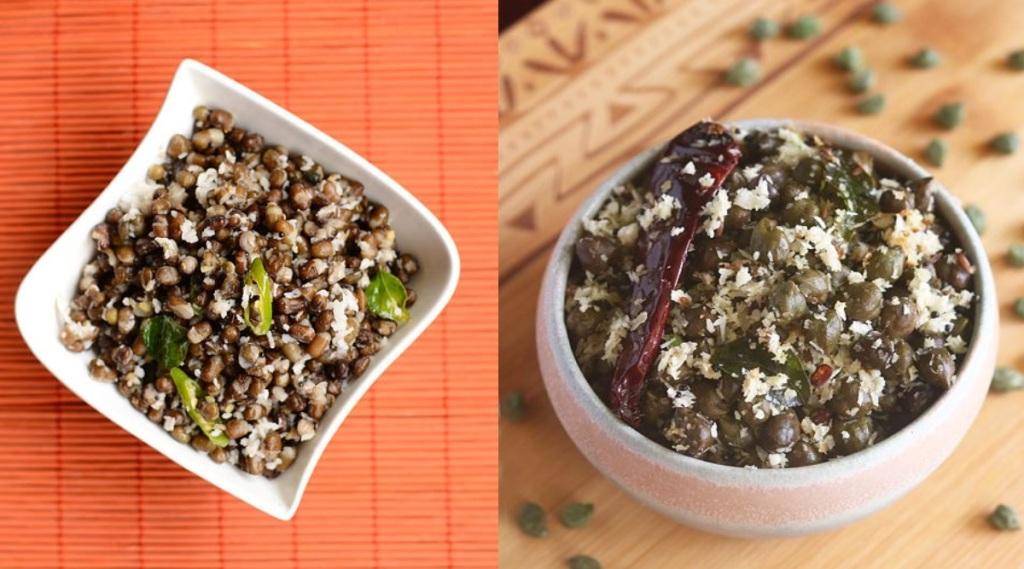 sundal recipe tamil: Whole urad dal sundal recipe in tamil