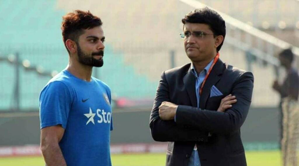 cricket news in tamil: It was his decision, no pressure from BCCI: Sourav Ganguly
