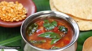 Poondu rasam recipe: A Monsoon Recipe of garlic rasam tamil