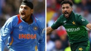 Cricket Tamil News: Harbhajan Singh, Mohammad Amir involved in ugly slugfest on Twitter over